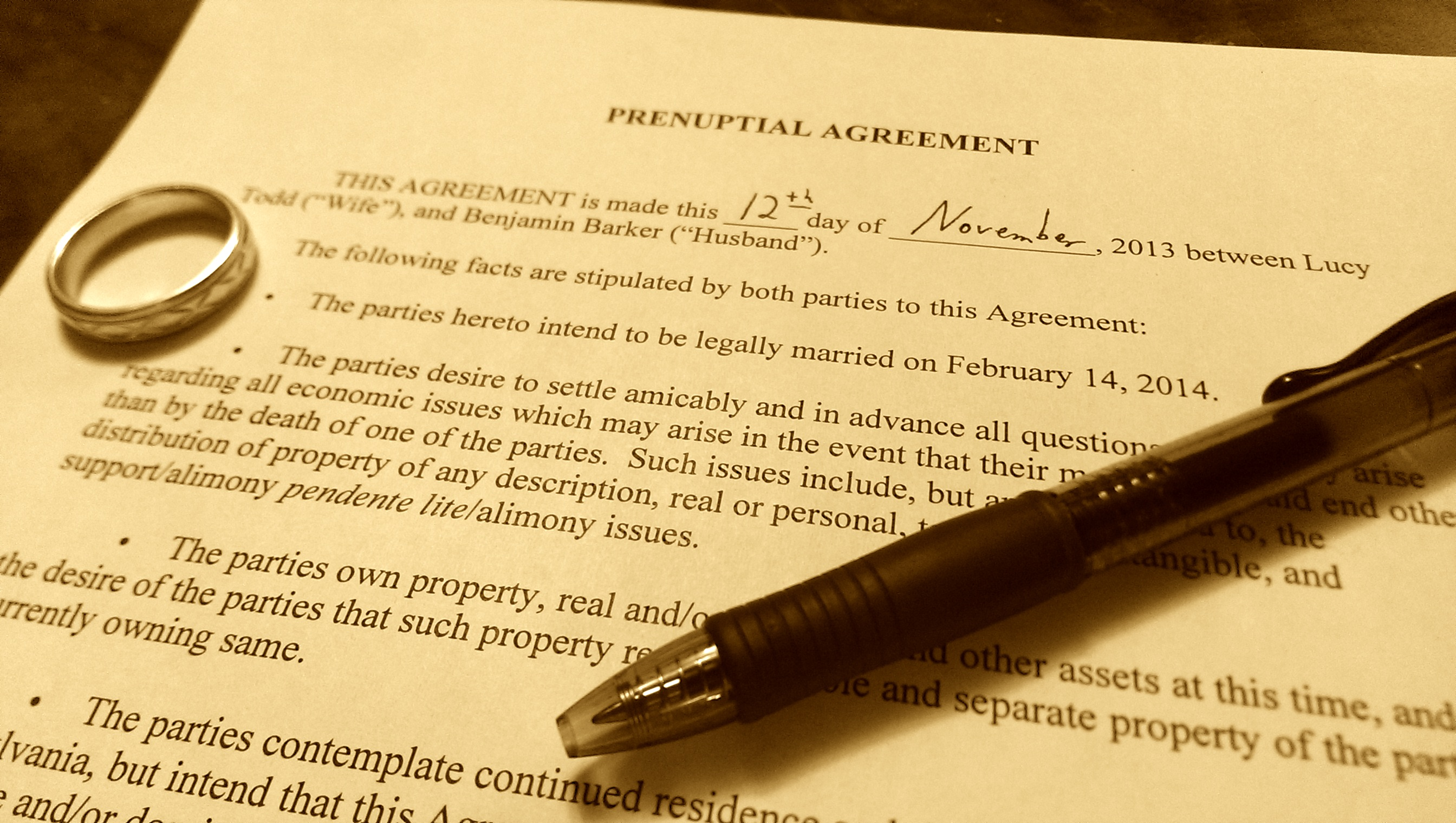 Do I Need A Prenuptial Agreement In Pennsylvania Pittsburgh